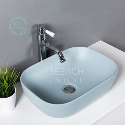 מגניב ביותר כיורים מונחים בצבעי מט - סבח חדרי אמבטיה WX-85