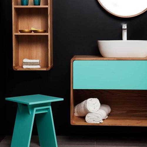 ארונות אמבטיה מעוצבים סדרת ווד
